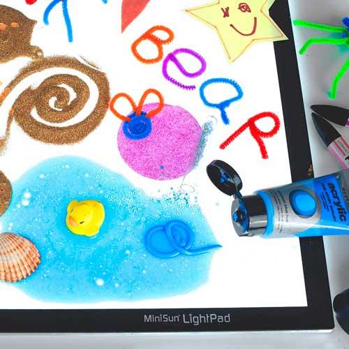 tableta-luz-niños