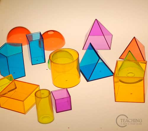 formas de plastico mesas luz