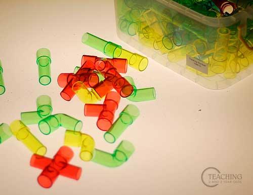 tuberias plastico mesa luz